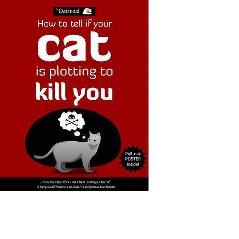 How To Tell If Your Cat Is Plotting To Kill You Mixed Media Product