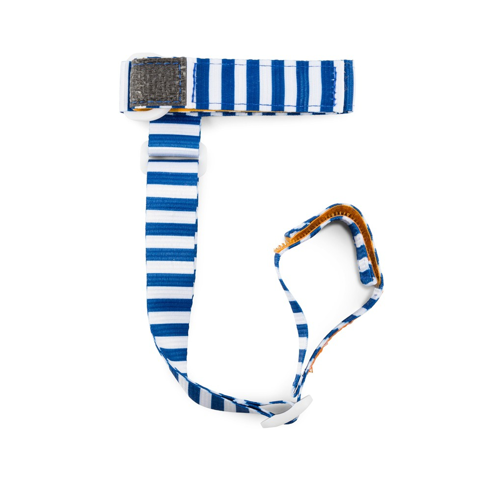 Image of BooginHead SippiGrip Sippy Cup Strap Sippy Cup Holder - Nautical Blue
