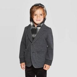 Toddler Boys' Blazer With Plaid Hoodie - art class™ Dark Gray