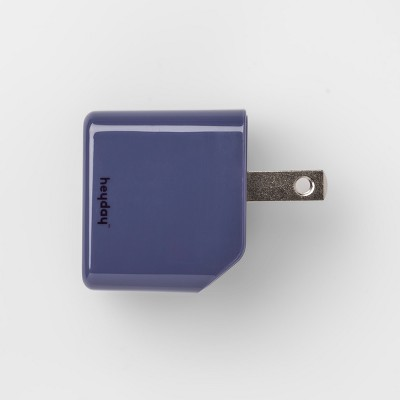 heyday™ USB Wall Charger - Purple