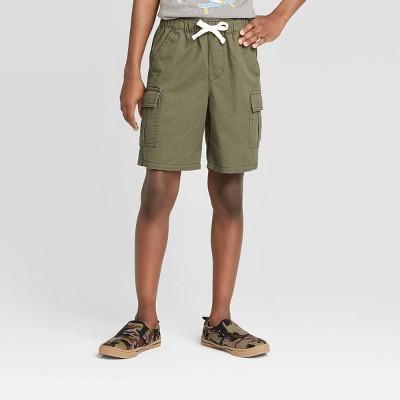 Boys' Pull-On Cargo Shorts - Cat & Jack™ Olive