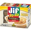 Jif To Go Natural Peanut Butter - 12oz/8ct - image 4 of 4