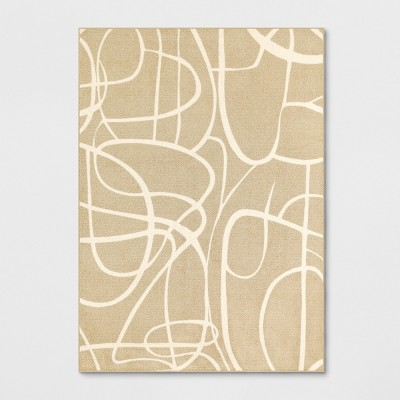 Tufted Abstract Lines Area Rug - Project 62™