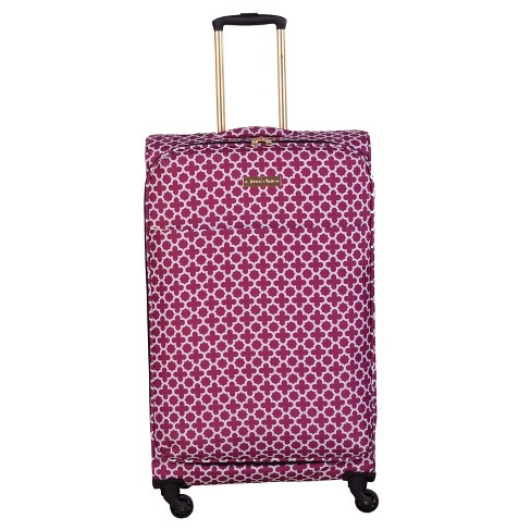 "Jenni Chan Aria Broadway 28"" Soft Spinner Suitcase - Cranberry - image 1 of 2"