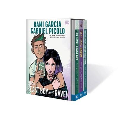 Teen Titans: Raven, Beast Boy and Beast Boy Loves Raven Box Set - by  Kami Garcia (Mixed Media Product)