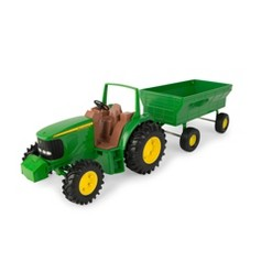 John Deere Tractor and Wagon