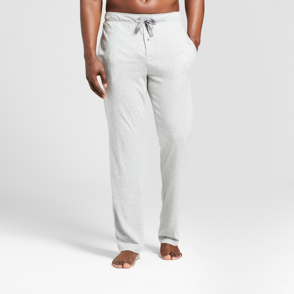 Image of Men's Knit Pajama Pants - Goodfellow & Co Heather Gray 2XL, Men's, Light Grey Gray