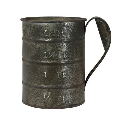 Decorative Metal Measuring Cup - VIP Home & Garden