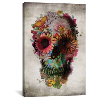 Skull #2 by Ali Gulec Canvas Print (18 x12 )