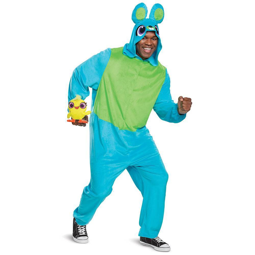 Image of Halloween Adult Toy Story Bunny Halloween Costume S/M, Adult Unisex, Size: Small/Medium, MultiColored