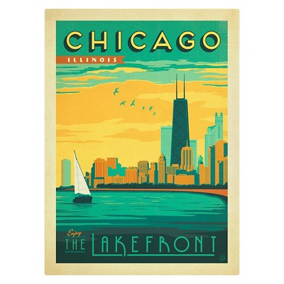 'Chicago II' by Anderson Design Group Ready to Hang Canvas Wall Art