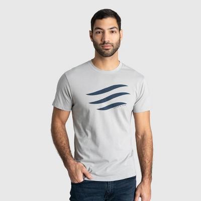 Men's United By Blue Organic Logo Waves Short Sleeve Graphic T-Shirt