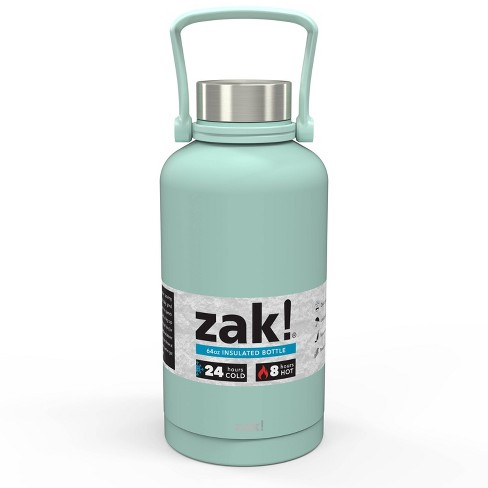 Zak Designs! 64oz Double Wall Stainless Steel Growler - image 1 of 4
