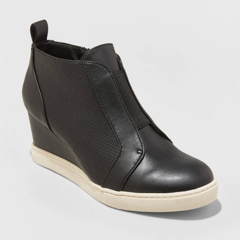 Women's Kolie Wedge Sneakers - A New Day™ - image 1 of 3