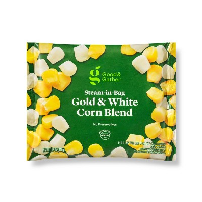 Frozen Gold & White Corn Blend 12oz - Good & Gather™