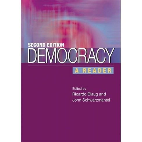 Democracy - 2nd Edition by  Ricardo Blaug (Paperback) - image 1 of 1