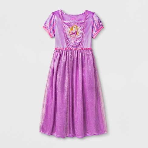 Girls  Disney Princess Nightgown - Purple   Target 3980eb866