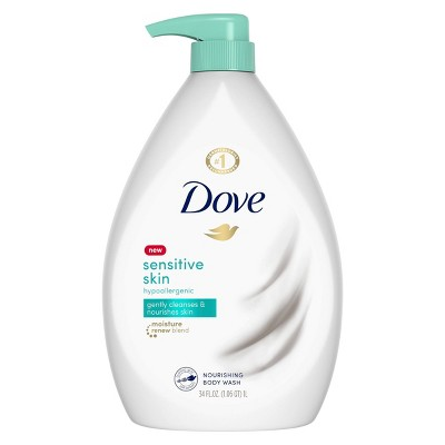 Body Washes & Gels: Dove Sensitive Skin