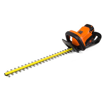 """WEN 40415 40V Max Lithium-Ion 24"""" Cordless Hedge Trimmer with 2Ah Battery and Charger"""