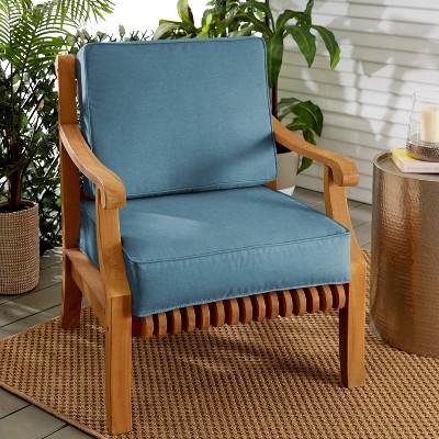 Sunbrella Indoor/Outdoor Corded Deep Seating Set