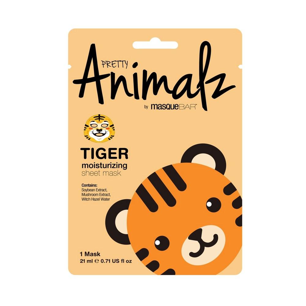 Pretty Animalz by Masque Bar Moisturizing Sheet Mask - Tiger - 1ct