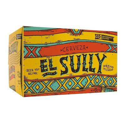 21st Amendment El Sully Cerveza Beer - 6pk/12 fl oz Cans