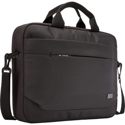 "Case Logic Advantage ADVA-114 BLACK Carrying Case (Attaché) for 10"" to 14.1"" Notebook - Black - Polyester"
