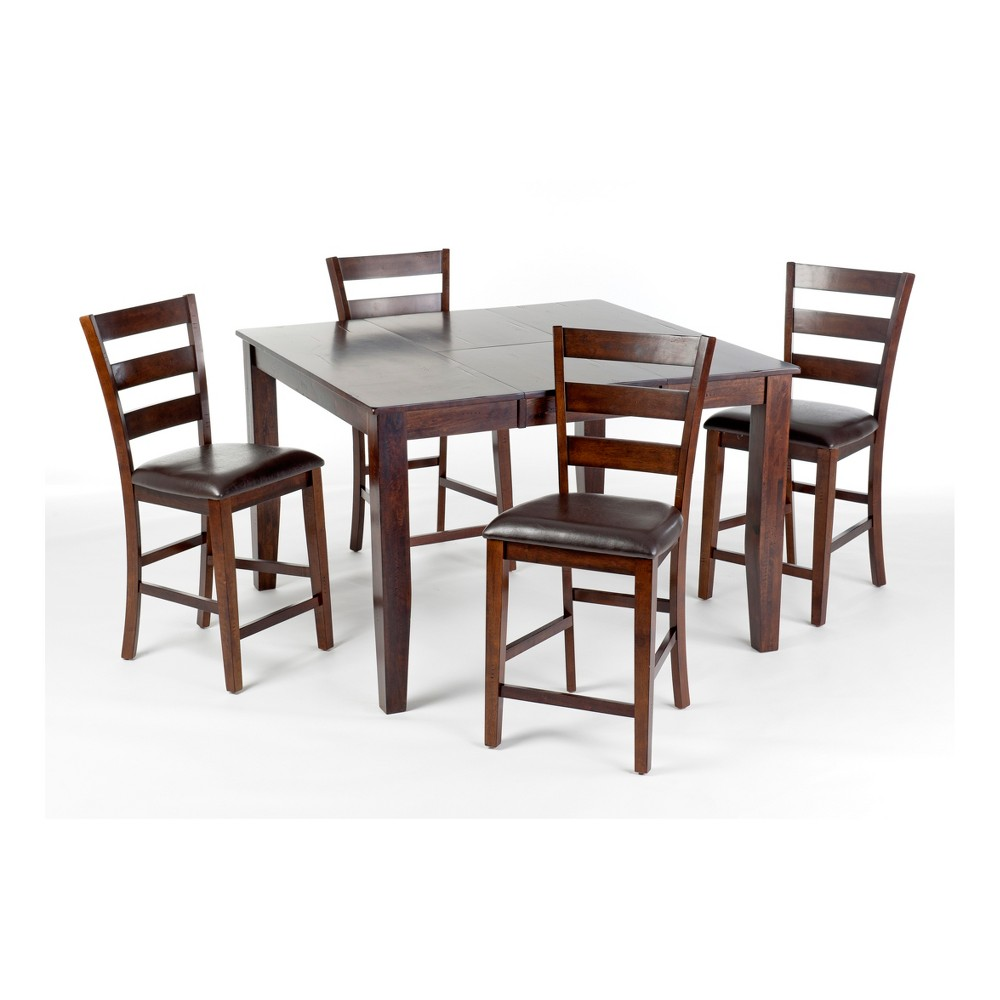 Kona Gathering Height Table Brown - Intercon