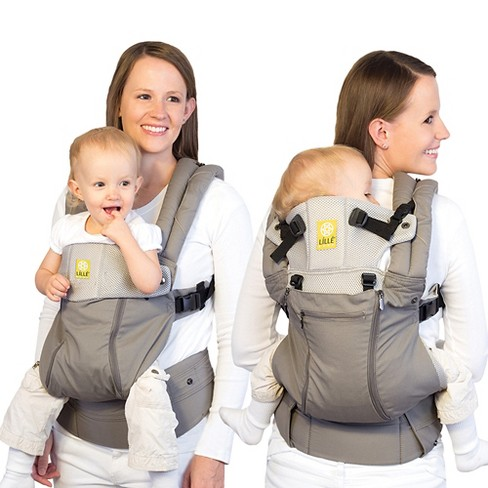 Lillebaby 6 Position Complete All Seasons Baby Child Carrier Stone
