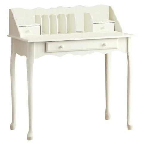 Traditional Secretary Desk - White - EveryRoom - Traditional Secretary Desk - White - EveryRoom : Target