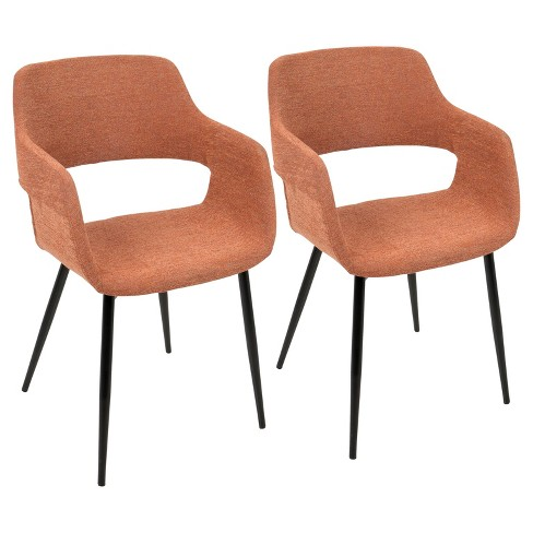 Margarite Mid Century Modern Dining Accent Chair Target