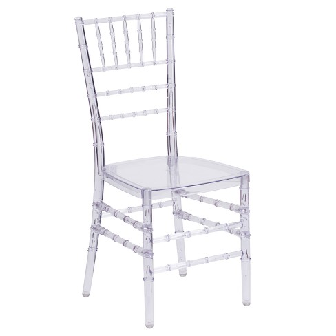 Riverstone Furniture Collection Leather Chiavari Chair Clear - image 1 of 4