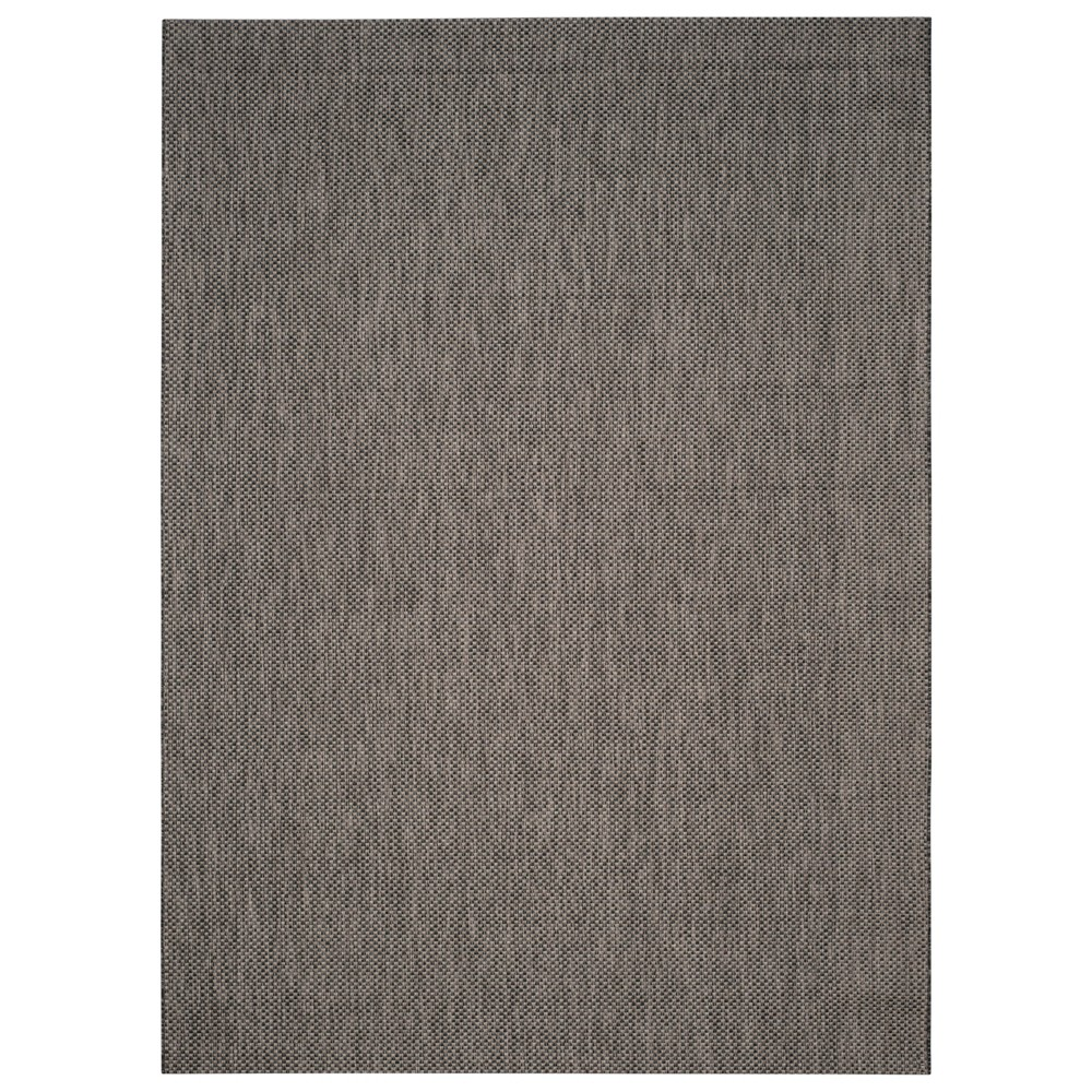 Cherwell Rectangle 9'X12' Patio Rug - Black/Beige - Safavieh