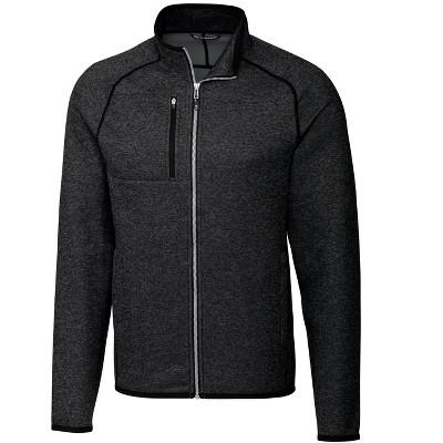 Cutter & Buck Mainsail Sweater-Knit Mens Full Zip Jacket