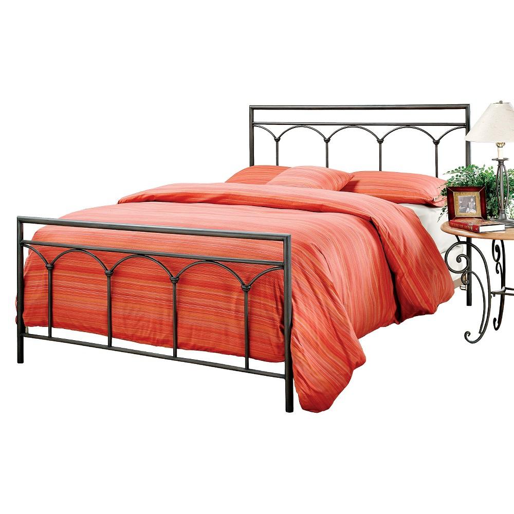 McKenzie Bed with Rails - Brown (Full) - Hillsdale Furniture, Black