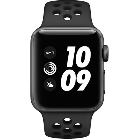58f924e93287d7 Apple Watch Series 3 Nike+ GPS 42mm Space Gray Aluminum Case With Nike  Sport Band - Anthracite Black   Target