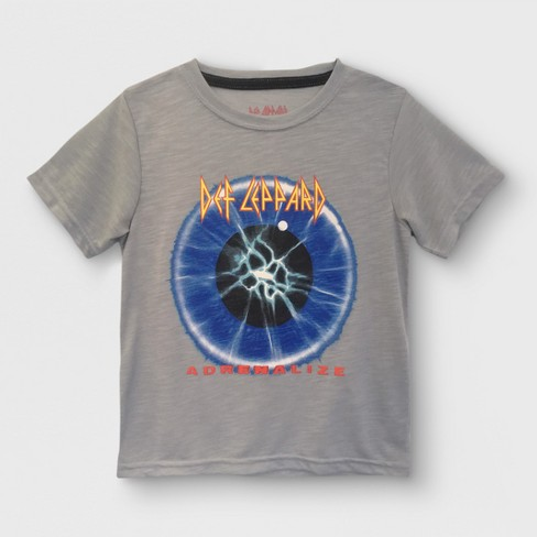 Toddler Boys' Def Leppard Short Sleeve T-Shirt - Gray - image 1 of 2