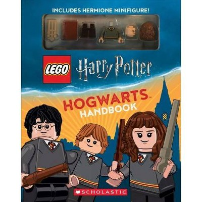 Lego Harry Potter Hogwarts Handbook With Hermione Minifigure -  by Jenna Ballard (Paperback)