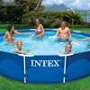 "Intex 12'x30"" Metal Frame Swimming Pool with Filter Pump & 2 Pool Debris Cover - image 4 of 4"