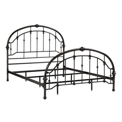 Antique Iron Metal Bed (Queen) - Pewter - Dorel Living - image 1 of 4