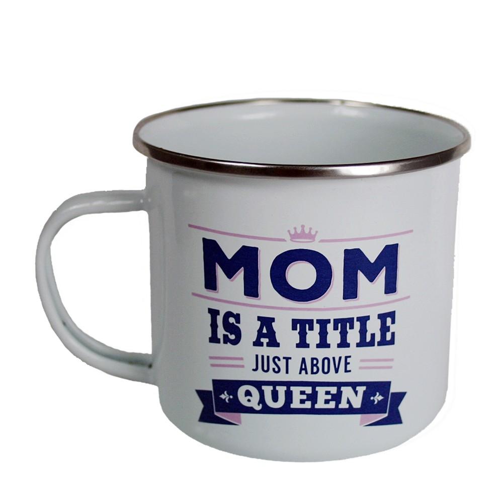 Mom Mug - History & Heraldry, White