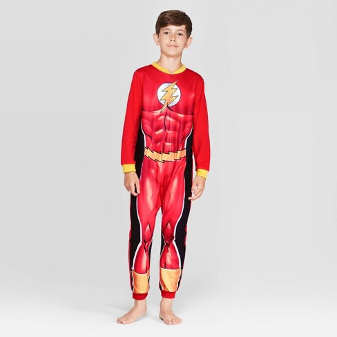 Boys' Flash Union Suit - Red - image 1 of 3