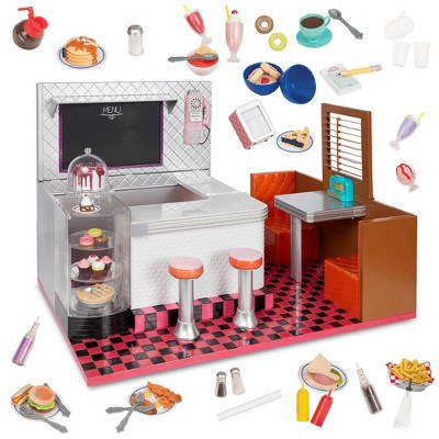 """Our Generation Bite to Eat Retro Diner for 18"""" Dolls"""
