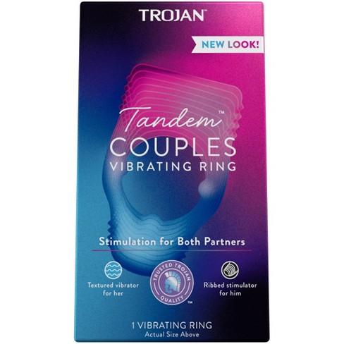 Trojan Vibrations Tandem Couples Vibrating Ring - image 1 of 4
