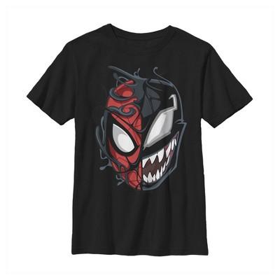 Boy's Marvel Spider-Man Venom Mask Split T-Shirt