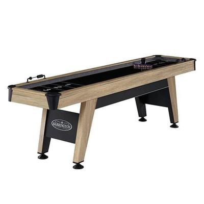 Barrington Wentworth 9' Shuffleboard Table - Brown