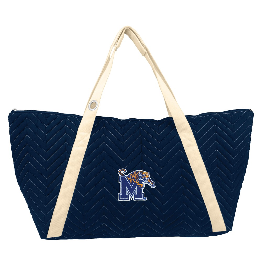 NCAA Memphis Tigers Little Earth Chevron Stitch Weekender Bag
