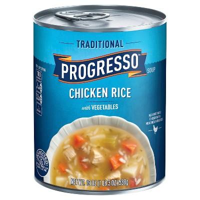 Progresso Gluten Free Traditional Chicken Rice Soup - 19oz