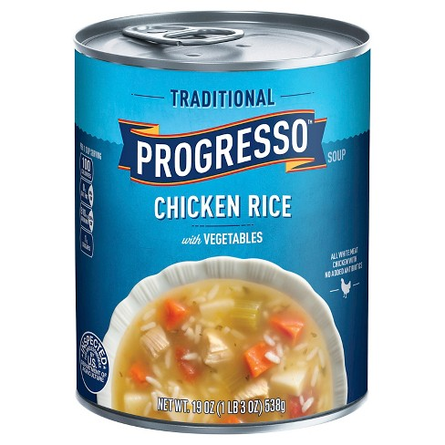 Progresso Traditional Chicken Rice Vegetables Soup 19 oz - image 1 of 4