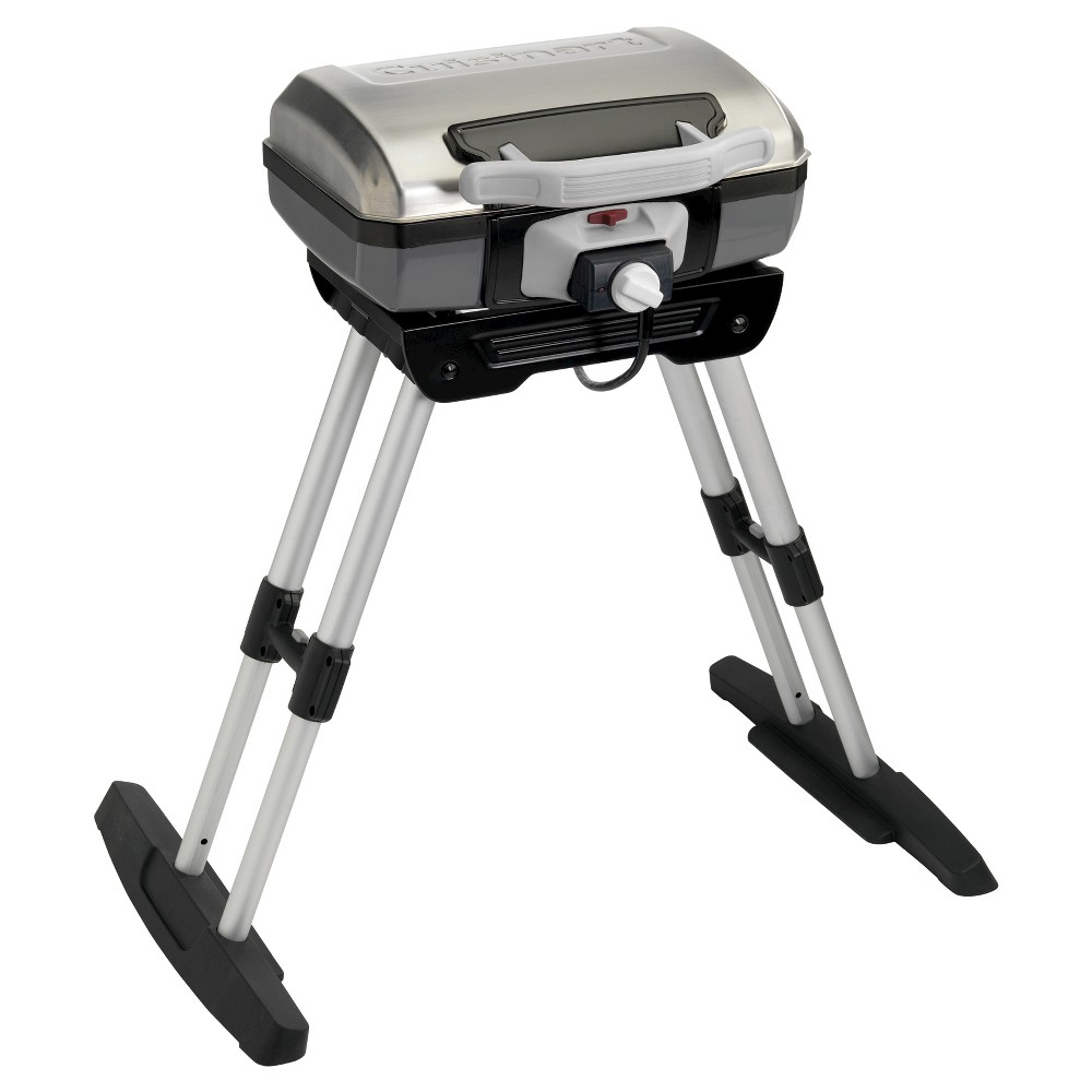 Cuisinart Outdoor Versastand Portable Electric Grill – Silver 51774648